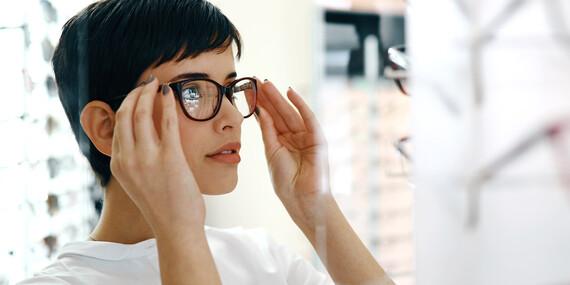 Štýlové dioptrické okuliare – rám, sklá, práca aj zábrus skiel/Bratislava - Ružinov