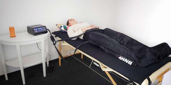 Kompresná prístrojová lymfodrenáž proti chronickej únave, bolestiam a celulitíde/Bratislava