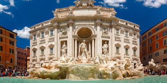Zájezd na 5 dní do jižní Itálie od Říma po Capri s výstupem na Vesuv s ubytováním v 4* hotelu se snídaní/Itálie