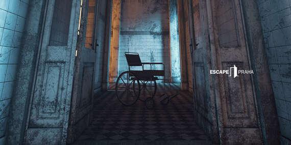 Zachováte si zdravý rozum? Asylum - úniková hra až pro 6 hráčů na Praze 7 s platností až do prosince 2020/Praha 7 - Holešovice