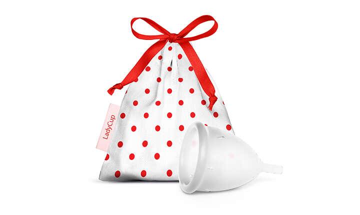 Menštruačný kalíšok LadyCup pre všetky ženy, ktoré chcú poho...