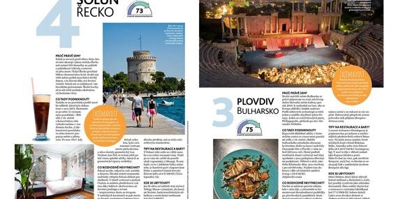 Magazín pre nadšencov cestovania - ročné predplatné časopisu Lonely Planet/Slovensko