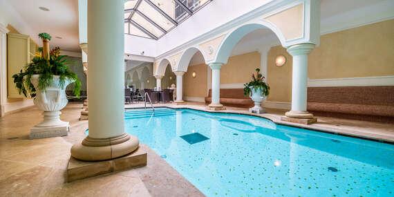 Exkluzivní pobyt s prvotřídními službami, špičkovou gastronomií a krásným wellness v hotelu Elizabeth ****/Trenčín