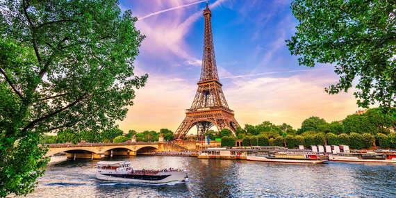 Paríž letecky priamo z Bratislavy s ubytovaním, profesionálnym sprievodcom, aj s možnosťou návštevy Disneylandu / Zájazd: Paríž - Francúzsko