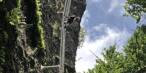 Slovenské ferraty s najdlhším lanovým mostom/Slovensko