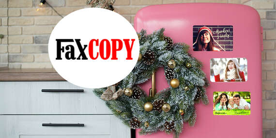 Exkluzívne hliníkové fotomagnetky s vašou fotografiou s osobným odberom ZADARMO až v 39 predajniach FaxCOPY/Slovensko