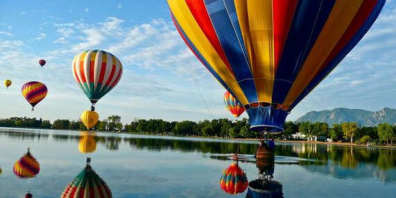 Nezabudnuteľný let balónom pre 1 až 2 osoby/Slovensko