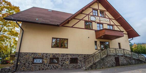 Dovolenka s výhľadom na panorámu tatranských končiarov z hotela Tulipán*** s wellness, polpenziou len 1 km od svahu/Vysoké Tatry - Tatranská Lomnica