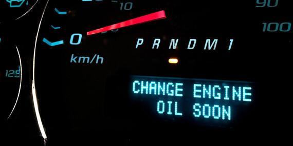 Výmena oleja a olejového filtra/Pezinok