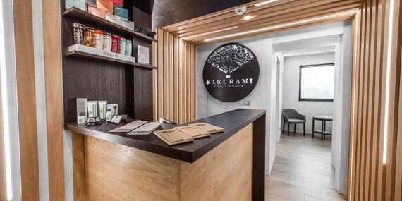 Uvoľňujúce masáže v Sakurami – ideálny darček/Bratislava – Staré Mesto