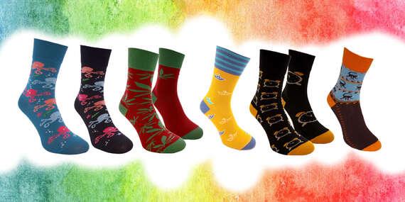 Atraktívne fashion ponožky pre pánov aj dámy značky Foxysoxy/Slovensko