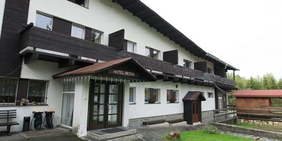 Beskydy v Hotelu Bečva s polopenzí, infrasaunou a zázemím pro sport i pro děti/Beskydy - Horní Bečva