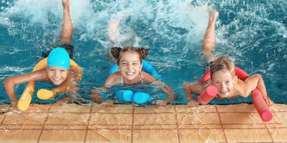 Kurzy plávania pre nových členov v detskom plaveckom centre KORYTNAČKA/Bratislava - Vrakuňa