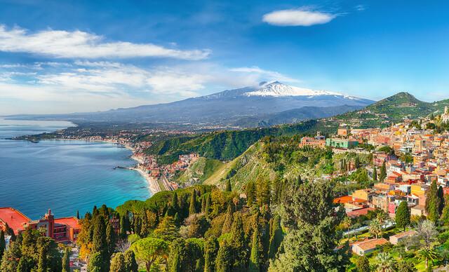 4-dňový letecký zájazd na Sicíliu s ubytovaním, raňajkami a službami sprievodcu