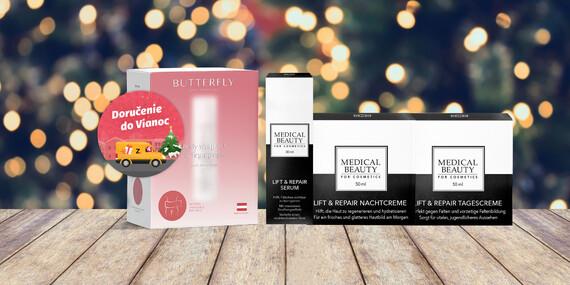 Telové zábalové ošetrenie Butterfly Body Cosmetics alebo balíček prémiovej starostlivosti proti vráskam/Slovensko