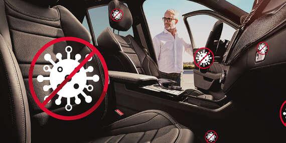 Dezinfekcia vozidiel suchou hmlovinou - znížte riziko šírenie vírusov a baktérií/Bratislava