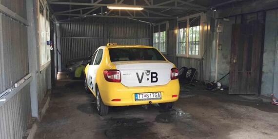 Ručné čistenie interiéru a exteriéru vozidla/Trnava