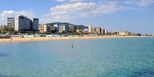 Hotel President*** leží priamo na pláži v Taliansku