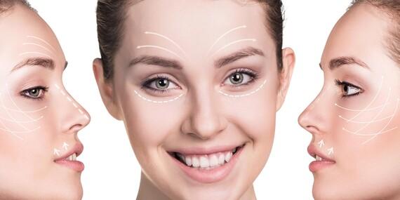 Nechirurgický 5D lifting tváre pre viditeľné omladenie a vypnutie pleti/Bratislava – Ružinov