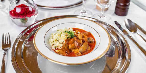 Degustačné 7-chodové menu v reštaurácii Hotela Devín**** inšpirované maďarskou kuchyňou / Bratislava – Staré Mesto