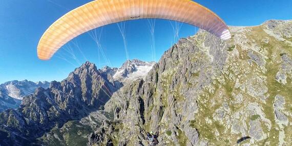 Nezabudnuteľný paragliding v tandeme vo Vysokých Tatrách/Slovensko