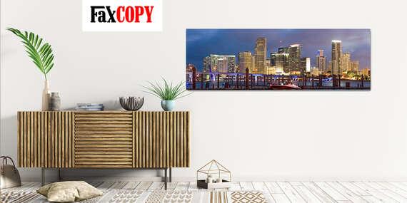 Veľkoformátový obraz z vašej fotografie na oživenie vašich priestorov s možnosťou odberu až v 40 predajniach FaxCOPY/Slovensko