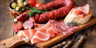 Sada 5-kilovej šunky so stojanom a nožom + klobása alebo paella