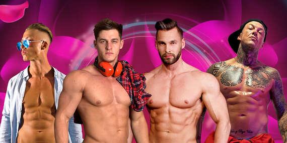 LADIES NIGHT u teba doma (24.4.2021) - pánsky striptíz online a poriadne zblízka/Slovensko