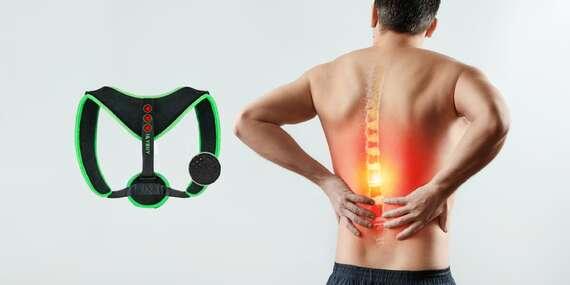 Rovnací pás na chrbát Posture Armor, uľaví od bolestí chrbta a každodennej únavy/Slovensko