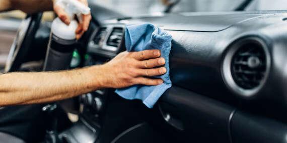 Kompletné umytie interiéru a exteriéru vozidla s prémiovou auto kozmetikou a dezinfekcia ozónom proti vírusom v H&S GARAGE/Bratilava - Rača