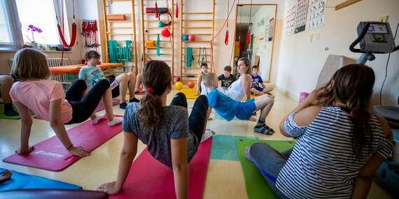"""Týždenný skoliotický tábor pre deti od 6 do 18 rokov denný alebo s možnosťou prespania - """"Cesta za zdravou chrbticou"""" / Bratislava - Ružinov"""