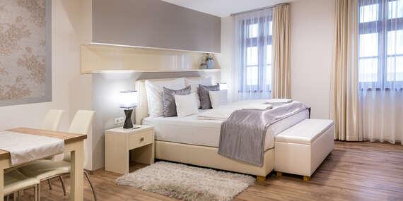 Relax v luxusných apartmánoch priamo v historickom centre mesta Győr so vstupom do termálnych kúpeľov Rába Quelle/Győr - Maďarsko