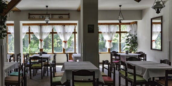 Lednový pobyt za skvělou cenu v hotelu Maxov v krajině Jizerských hor s polopenzí, vstupem do sauny pro celou rodinu/Jizerské hory - Josefův Důl