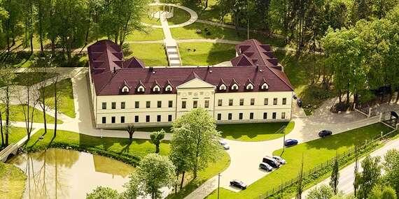 Romantický pobyt v Chateau Kynšperk s neomezeným wellness a polopenzí / Kynšperk nad Ohří