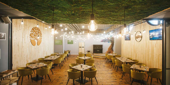 """Keď večera, tak jedine """"Positive"""" pri 3-chodovom menu v Positive Restaurant/Bratislava - Petržalka"""
