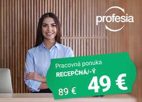 Hľadáte špičkový personál? Využite teraz zvýhodnenú cenu inzercie na Profesia.sk