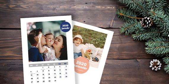Vytvorte si svoj kalendár s vlastnými fotkami za pár klikov z pohodlia domova/Slovenko