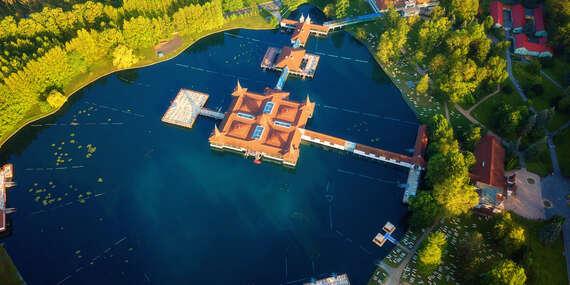 Extra lacná dovolenka pre dvoch pri slávnom maďarskom jazere Hévíz (kúpanie celoročne)/Hévíz - Maďarsko