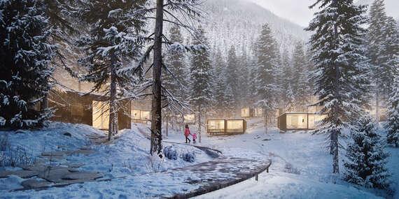ULTRA LAST MINUTE JANUÁR 2021 v Björnson Tree Houses pri svahoch Jasnej (dieťa do 15 rokov zdarma) / Demänovská Dolina - Jasná