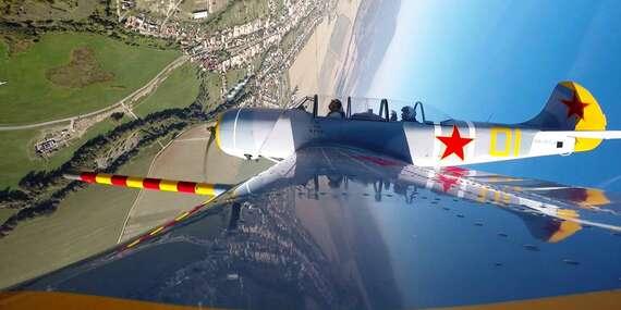 Zážitkový let ponad Spiš alebo Vysoké Tatry s možnosťou pilotovania alebo adrenalínový akrobatický let/Letisko - Spišská Nová Ves