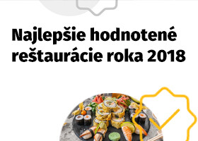 Pozrite si slovenské reštaurácie s najlepšími hodnoteniami na ZľavaDňa za rok 2018