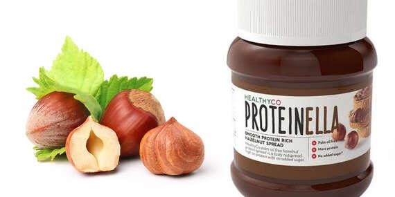 Proteínová verzia orieškovo-čokoládovej nátierky – Proteinella s prospešnými živinami a nie len prázdnymi kalóriami/Slovensko