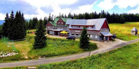 Rodinná dovolená až na 7 nocí v horské chatě Sedmidolí ve Špindlerově Mlýně s polopenzí/Špindlerův Mlýn