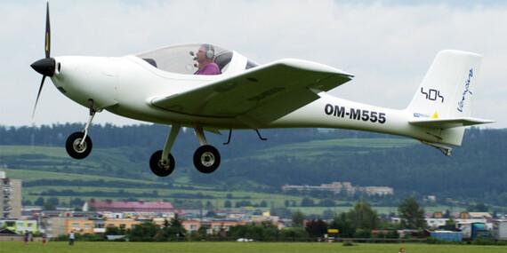 Skutočne nebeský zážitok - lietanie s možnosťou pilotovania na skúšku/Spišská Nová Ves