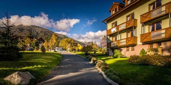 Hotel Villa Siesta*** v srdci Národného parku Vysoké Tatry s raňajkami alebo polpenziou/Vysoké Tatry - Nový Smokovec