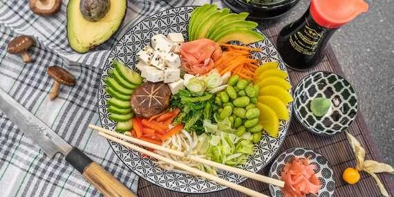 Fugu Sushi: Kúsok najkrajších a najchutnejších ingrediencií Japonska v jednej miske / Bratislava – Staré Mesto