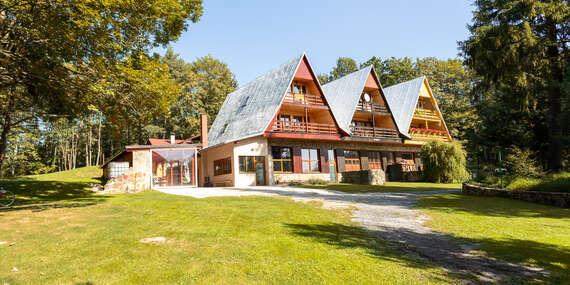 Chata Horský dom pre 6 – 17 osôb vo výbornej tichej lokalite pri Levoči, s dlhou platnosťou/Levoča a okolie, Slovensko