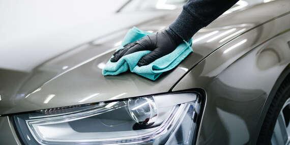 Umývanie auta - interiér, exteriér, tepovanie a nanesenie keramického vosku/Košice