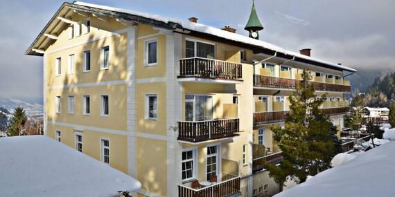 Lyžařský svah přímo za hotelem Helenenburg v Alpách se snídaní a slevovou kartou GASTEIN CARD/Rakousko - Bad Gastein