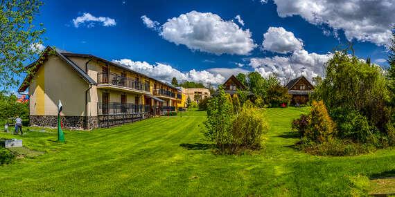 Vynikajúci Sojka resort na Liptove s wellness, neobmedzeným kúpaním a množstvom bonusov/Liptov – Malatíny